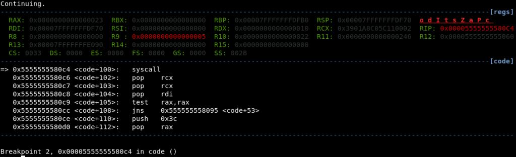 Analyzing Metasploit Shellcode (Part 1): linux/x64/meterpreter